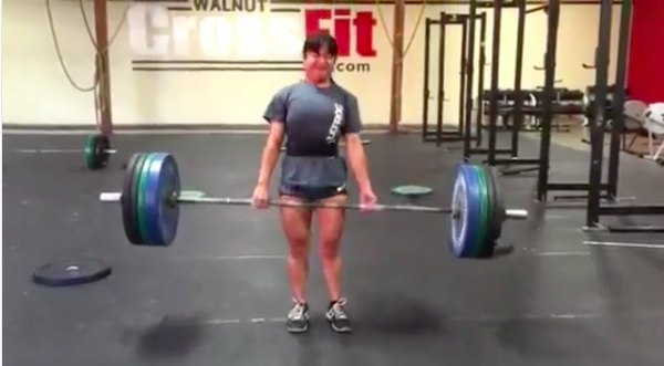 This is me deadlifting 225 pounds a year ago... over 2.25 times my bodyweight!